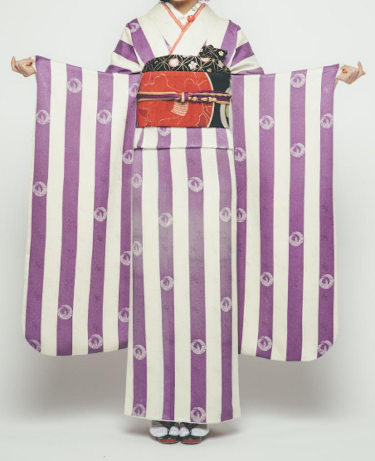 振袖 紫 SE-018