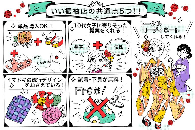 激カワ振袖が目白押しなオススメ店♡5つの共通点を紹介☆