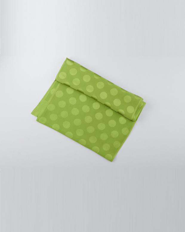 ラブリス帯揚げ(緑)ドット