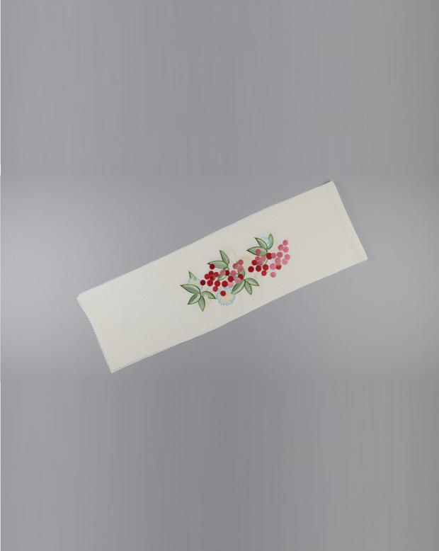 ラブリス半衿(白)小花