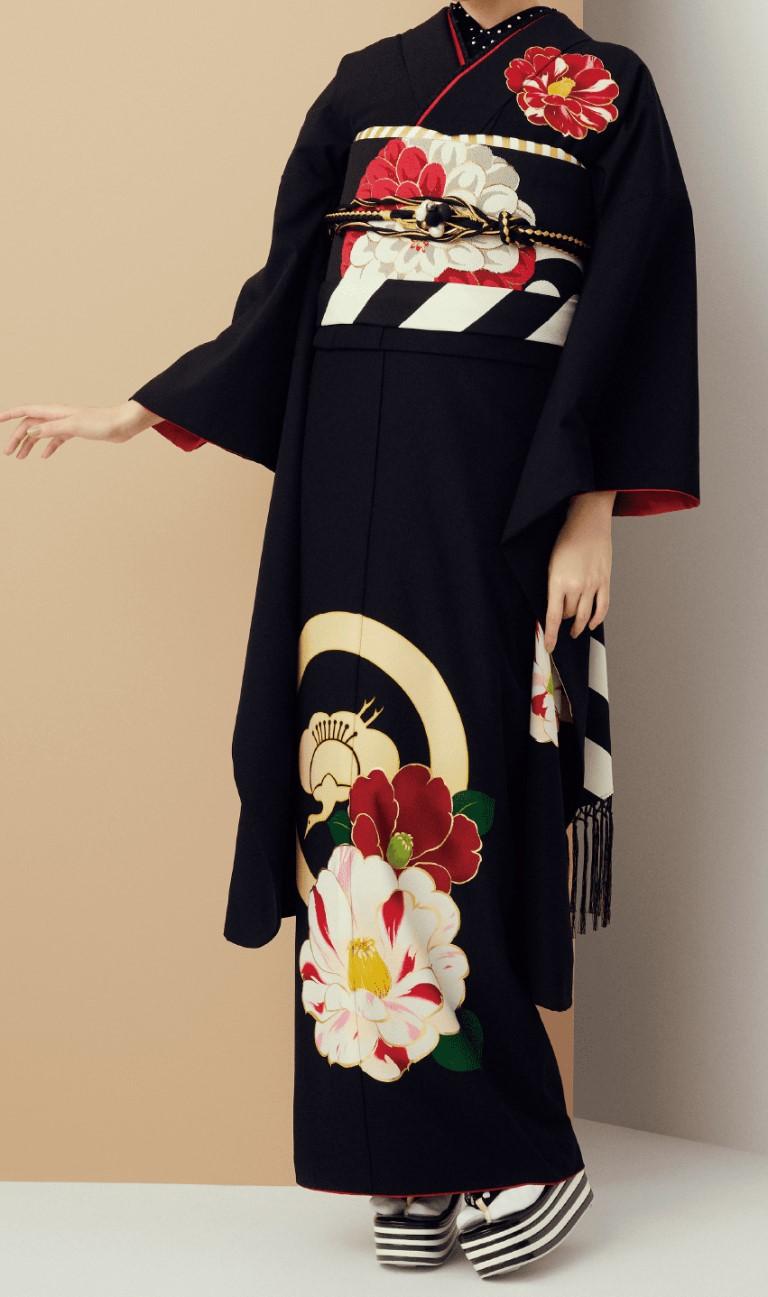 玉城ティナ × 紅一点(黒・花)