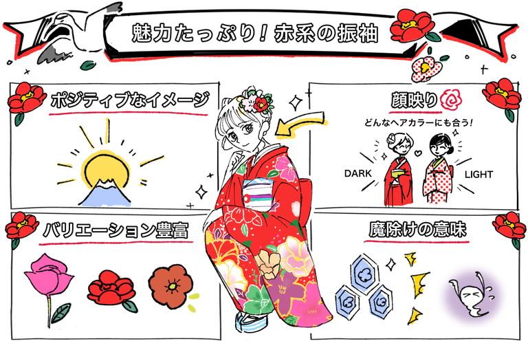 成人式の振袖は赤色で麗しゴージャスに♡人気の3着を厳選紹介