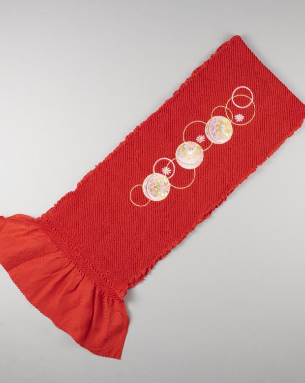 ラブリス帯揚げ・まり刺繍