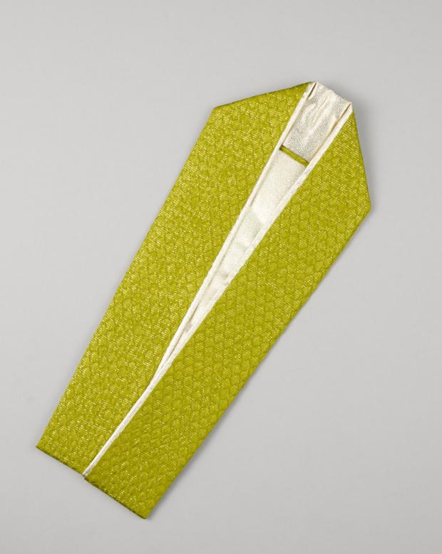 ラブリス重衿(黄緑X銀)ライン