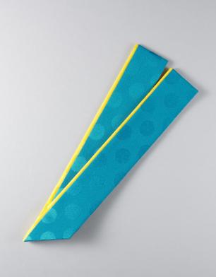 ラブリス重衿(青)黄色ライン