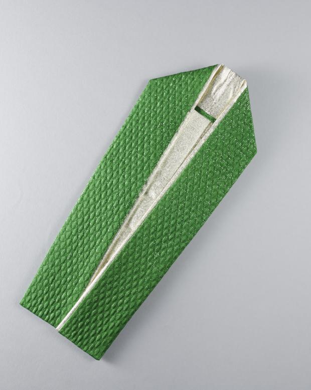 ラブリス重衿(緑X銀)2重