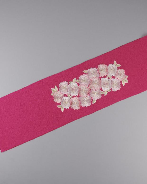 ラブリス半衿(ピンク)桜