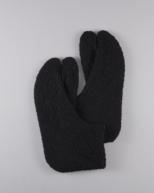 ラブリス足袋(黒)レース